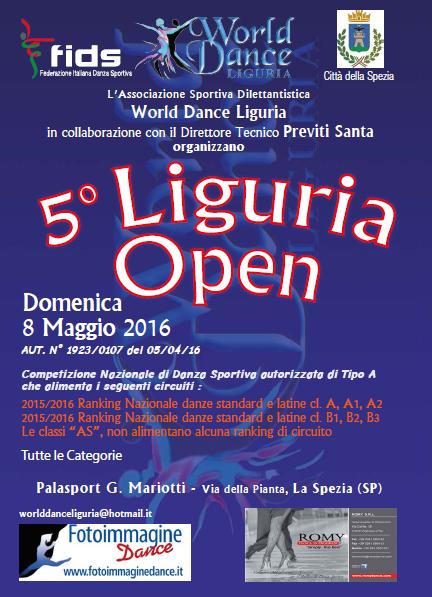 Calendario Fids.Comitato Regionale Liguria