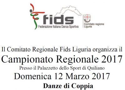 Campionato Regionale Danze di Coppia