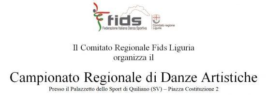 Campionato Regionale Danze Artistiche