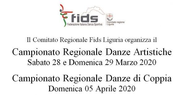 Campionati Regionali Liguria