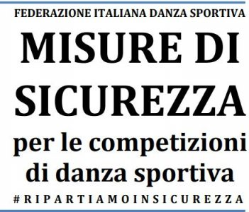 Protocollo applicativo di sicurezza per la Danza Sportiva